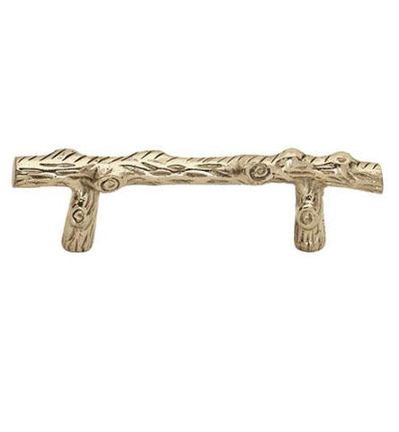 4 5/8 Inch Tree Branch Cabinet Pull