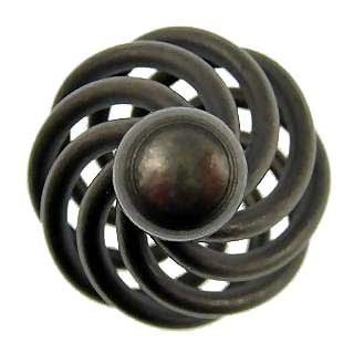 Wrought Iron Flanders Cabinet and Furniture Knob