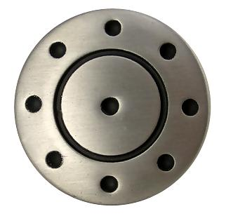 Round Dotted Solid Pewter Cabinet & Furniture Knob