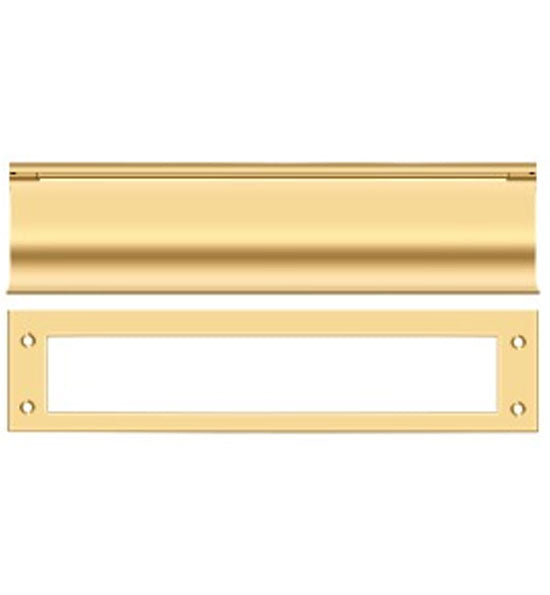 13 Inch Brass Mail & Letter Flap Slot in Several Finishes