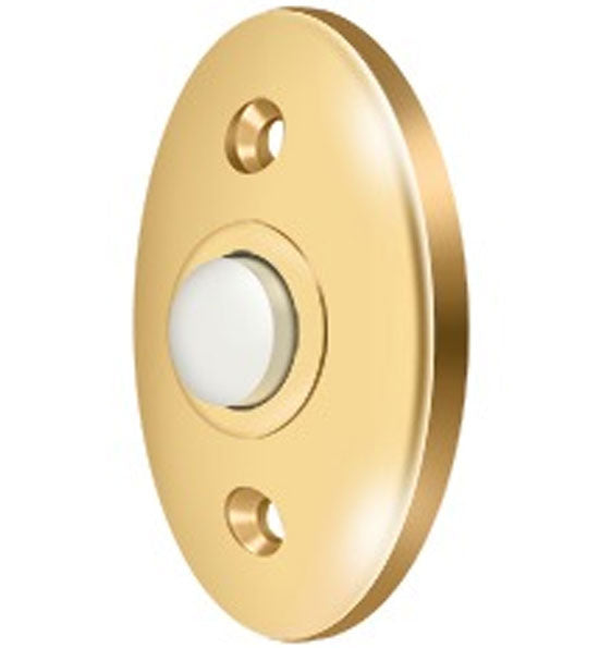 2 3/8 Inch Solid Brass Door Bell Button