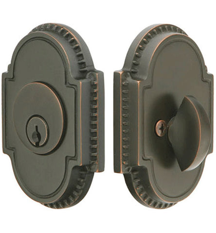 Knoxville Style Oval Deadbolt