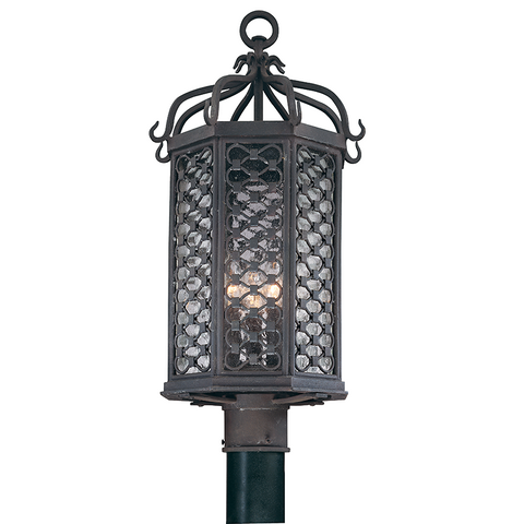 LOS OLIVOS 3 Light POST LANTERN MEDIUM