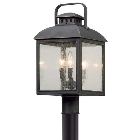 CHAMBERLAIN 3 Light POST LANTERN MEDIUM