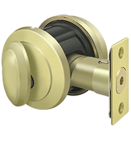 Deltana Low Profile Port Royal Deadbolt Lock Grade 2