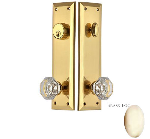 Quaker Style Single-Door Deadbolt Entryway Set Several Finishes