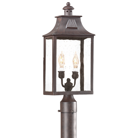 NEWTON 2 Light POST LANTERN MEDIUM