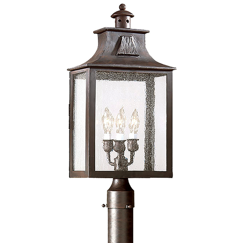 NEWTON 3 Light POST LANTERN LARGE