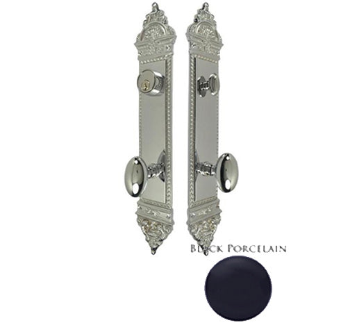 L'Enfant Style Single Door Deadbolt Entryway Set in Several Finishes