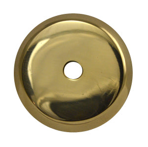 1 1/4 Inch Solid Brass Traditional Round Back Plate