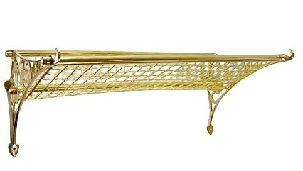 Solid Brass Railway Rack