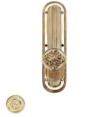 Romanesque Round Door Knob Set