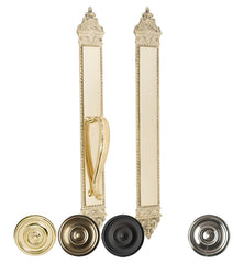 L'Enfant 23 3/8 Inch Push and Pull Plate Set