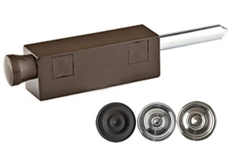 6 1/8 Inch Non-Keyed Patio Door Bolt in Several Finishes