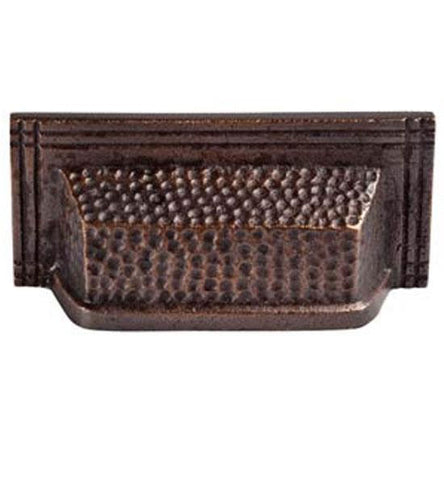 4 1/2 Inch Solid Copper Rectangular Bin Pull