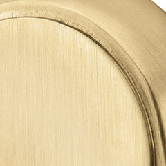 Solid Brass Helios Key In Door Lever with Disk Rosette
