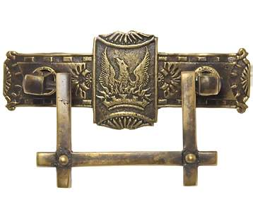 3 5/8 Inch Phoenix Bird Cabinet & Furniture Pull