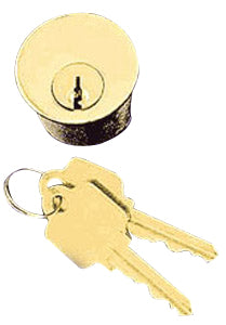 Solid Brass 1 1/4 Inch Lock Cylinder With Key