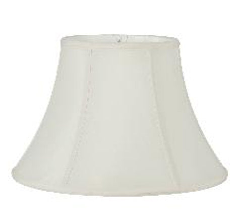 Eggshell Shantung Silk Transitional Bell