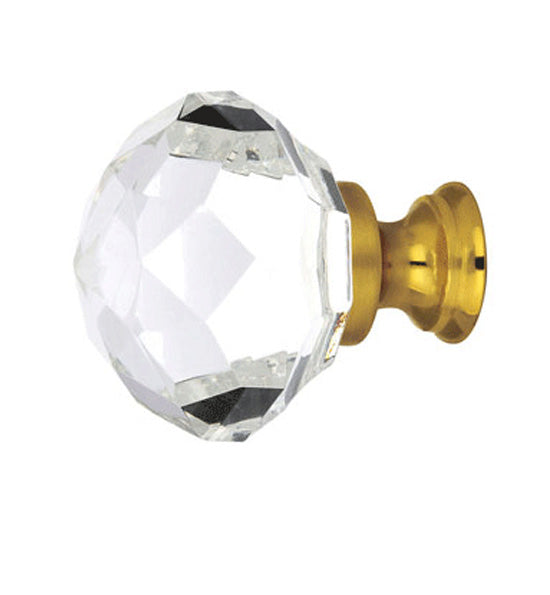 1 3/4 Inch Diamond Wardrobe Knob