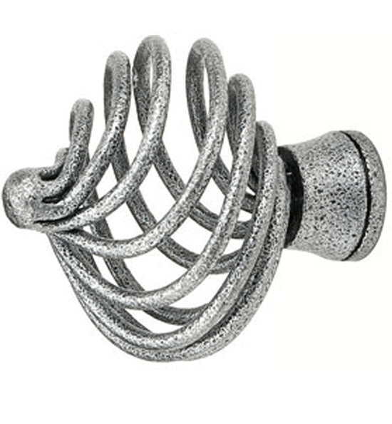Wrought Steel Flanders Cabinet and Furniture Knob