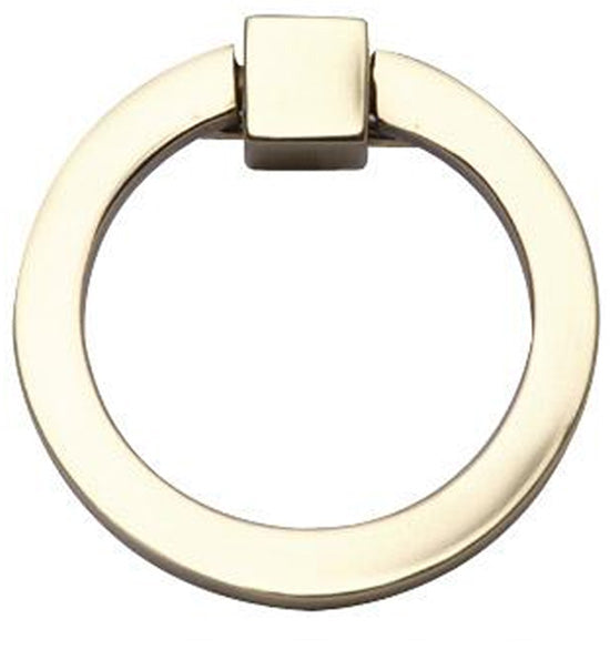 3 Inch Mission Style Solid Brass Drawer Ring Pull