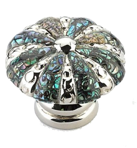 1 3/8 Inch Symphony Inlays Imperial Shell Round Knob