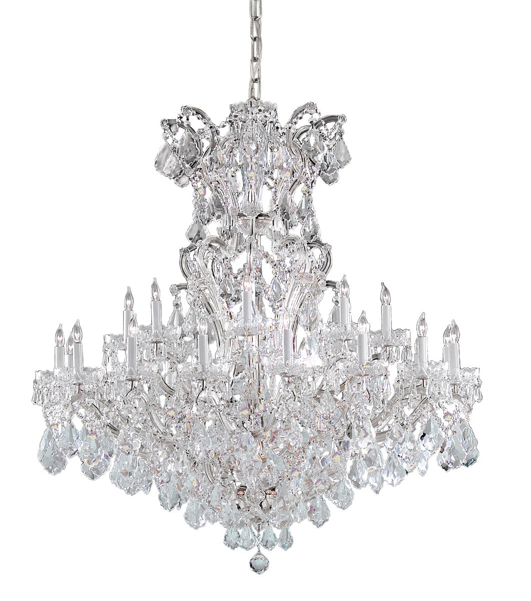 Crystorama 48 Inch Maria Theresa 25 Light Chandelier