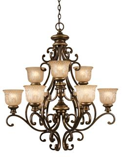 Crystorama Norwalk 9 Light Chandelier