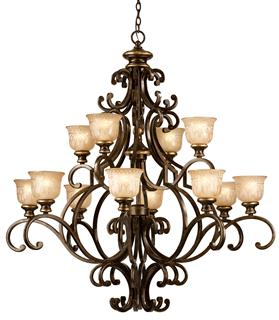 Crystorama Norwalk 12 Light Chandelier