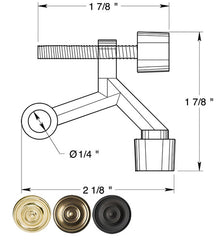 2 Inch Hinge Pin Door Stop