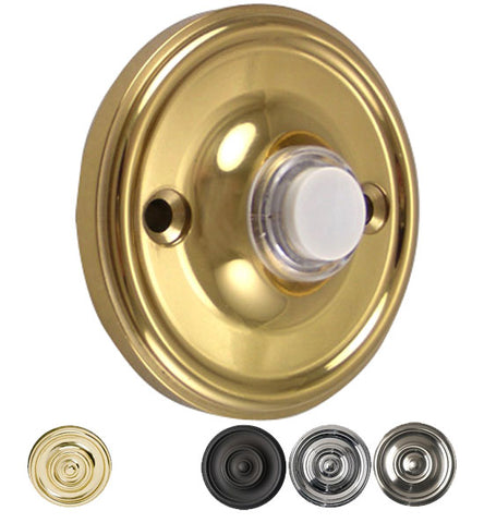 Solid Brass Traditional Style Doorbell