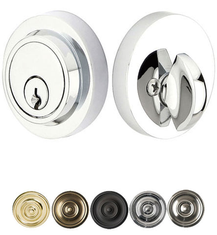 Brass Modern Style Deadbolt Several Finishes Available