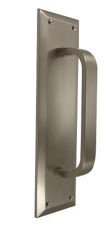 10 Inch Quaker Style Door Pull Plate in Several Finishes