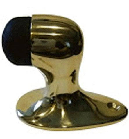 2 1/8 Inch Floor Mounted Bumper Door Stop in Several Finishes