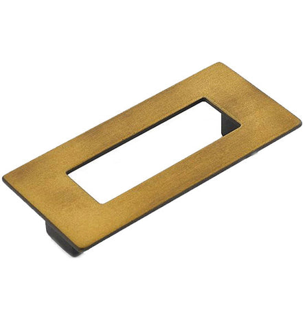 4 5/8 Inch (3 3/4 Inch c-c) Finestrino Rectangle Pull