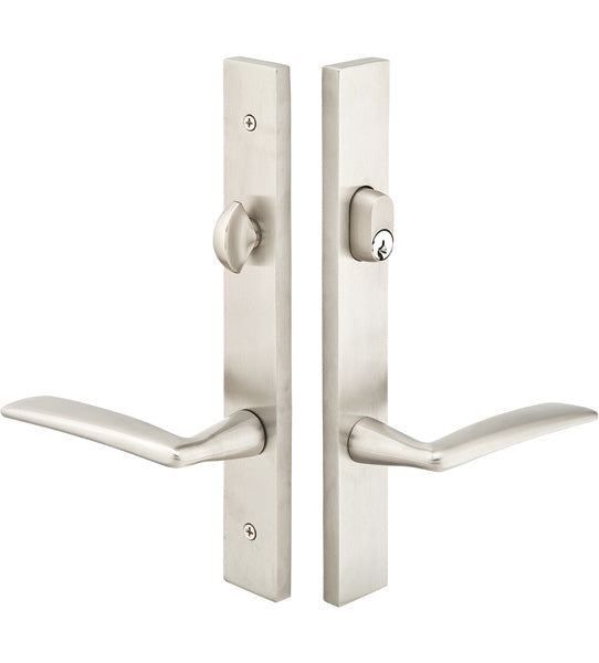 Stainless Steel Keyed Style Multi Point Lock Trim