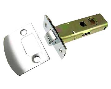 Tubular Style Latch Mechanism for Fluted Style Glass Doorknob Sets