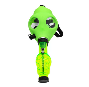 Gas Mask Water Pipe - Sealed Acrylic Water Pipe - The Oven Company