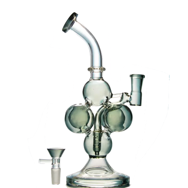 3D Molecule Structure Water Pipe - The Oven Company