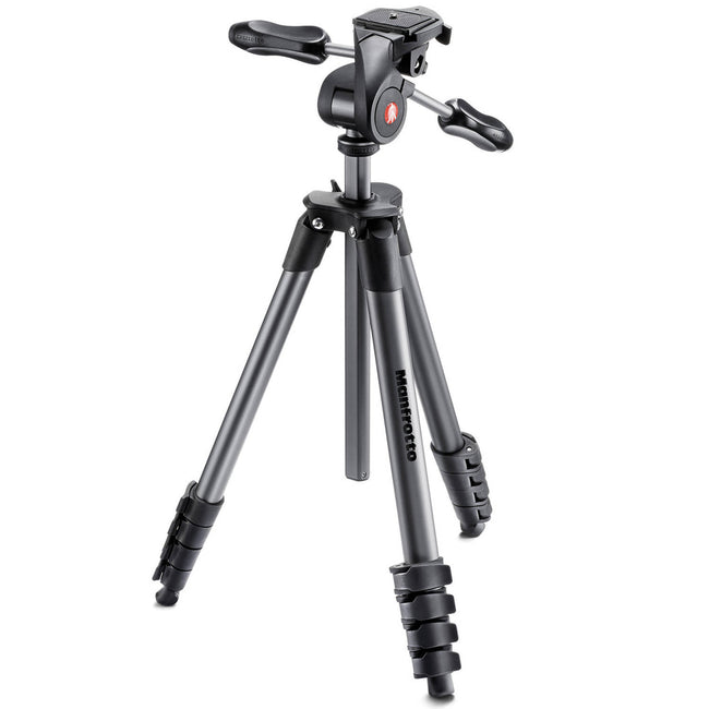 Tripié Manfrotto Compact Advanced Negro (MKCOMPACTADV-BK)