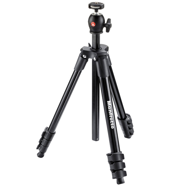 Tripié Manfrotto Compact Light Negro (MKCOMPACTLT-BK)