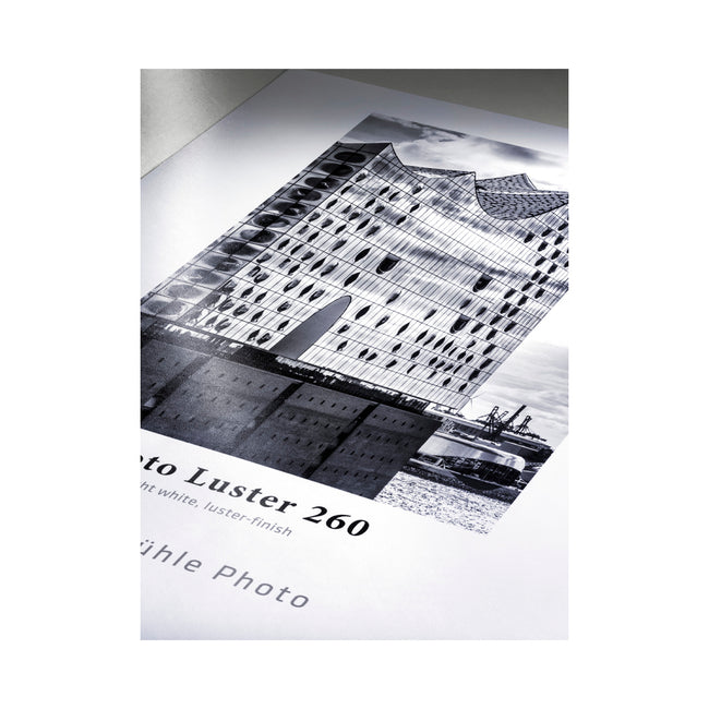 "Papel Hahnemühle Photo Luster 260gr de 44"", rollo de 30m (10643170)"