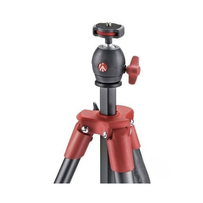 Tripié Manfrotto Compact Light Rojo (MKCOMPACTLT-RD)