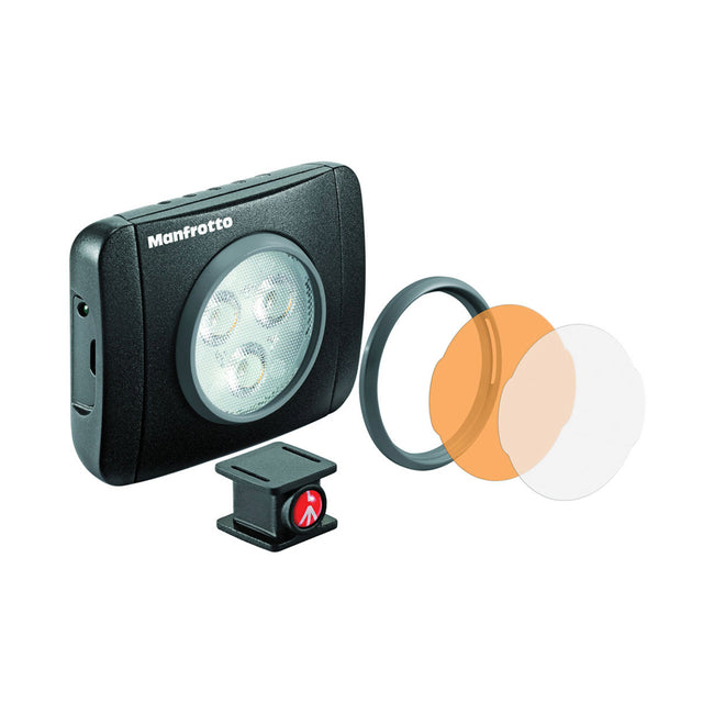Lampara Led Manfrotto Lumie Play de 3 Led's Negra (MLUMIEPL-BK)