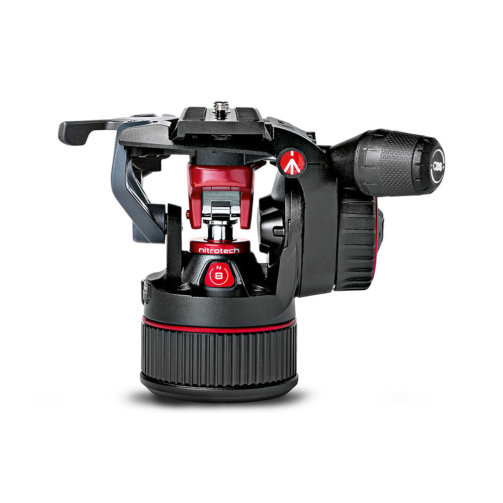 Cabeza Fluida Manfrotto De Video NitroTech N8 (MVHN8AH)