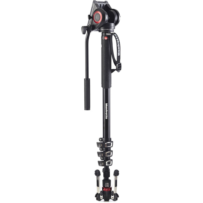 FocusFocus.mx | Monopie Manfrotto para Video XPRO con Cabezal MVH500AH