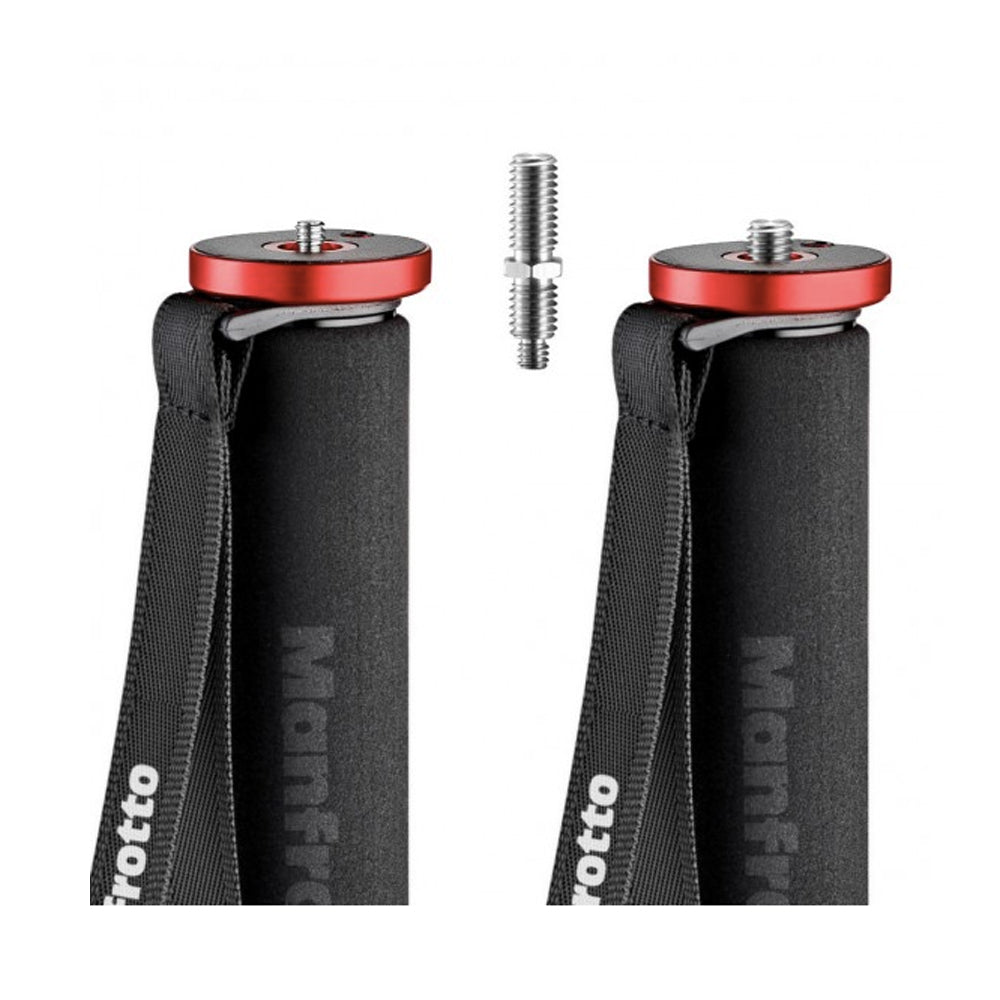 Monopie Manfrotto Element Rojo Para 15kg (MMELEA5RD)