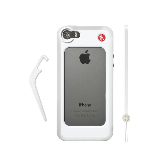 Funda Manfrotto Blanca Para Iphone 5/5S (MCKLYP5S-W)