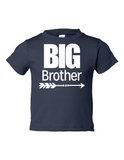 Big Brother Funny Toddler Tee Navy 2T